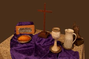 Coffee House communion table